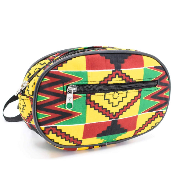 African Ankara Fanny Pack Waist Bag - AFRIKAN ATTIRE - #african_clothing - BAG