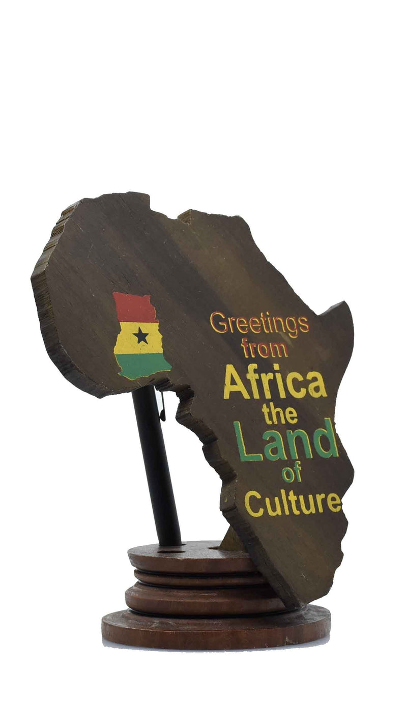 African Map Pen Holder - AFRIKAN ATTIRE -