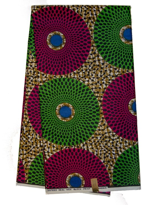 African Print Veritable Dutch Wax - AFRIKAN ATTIRE - #african_clothing -