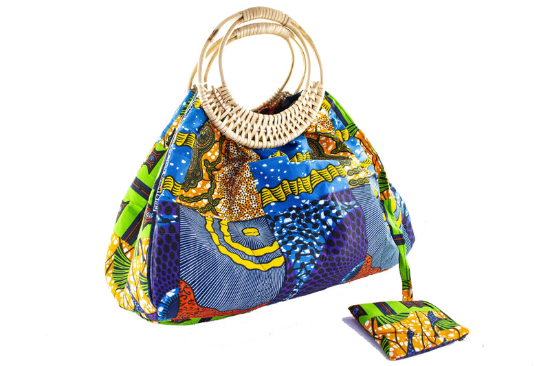 African Prints Bag - AFRIKAN ATTIRE -