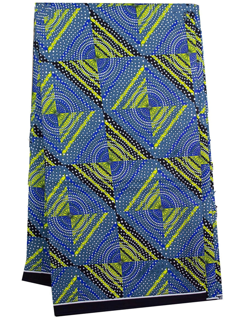 African Wax Fabric - AFRIKAN ATTIRE - african_clothing - - african_attireAFRIKAN ATTIRE - african_fashion