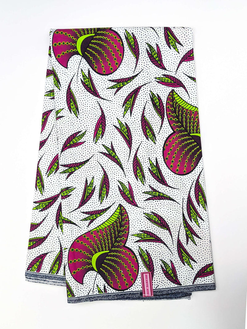 African Print Veritable Dutch Wax F15