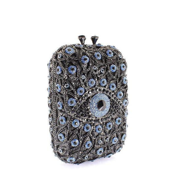 All Eyes On Me Clutch Purse - AFRIKAN ATTIRE - #african_clothing -