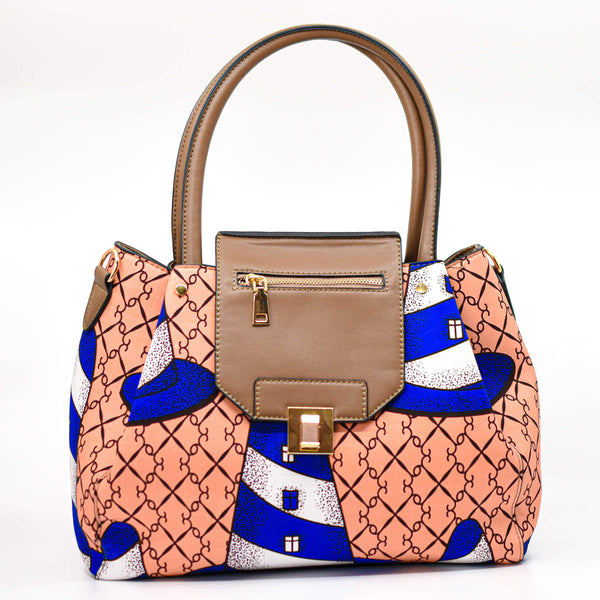 Ankara Handbag - AFRIKAN ATTIRE - african_clothing - Handbags - african_attireAFRIKAN ATTIRE - african_fashion