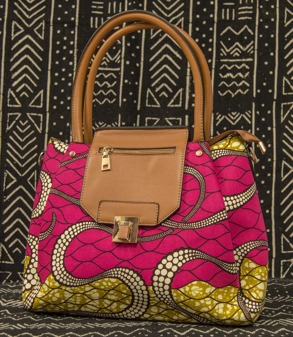 Ankara Print Bag - AFRIKAN ATTIRE - #african_clothing - BAG