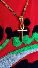 Ankh Symbol of Life Chain - AFRIKAN ATTIRE -