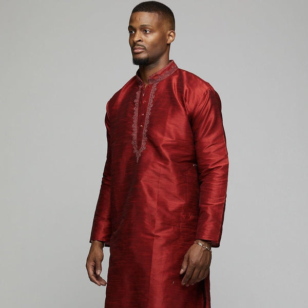Arabian Silk Shirt - AFRIKAN ATTIRE - #african_clothing -