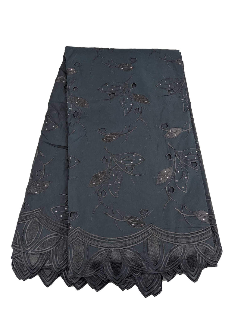 Black Cotton Lace