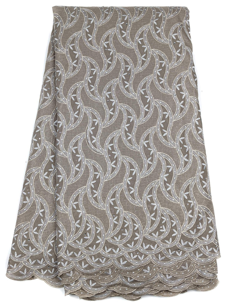 Grey Cotton Lace