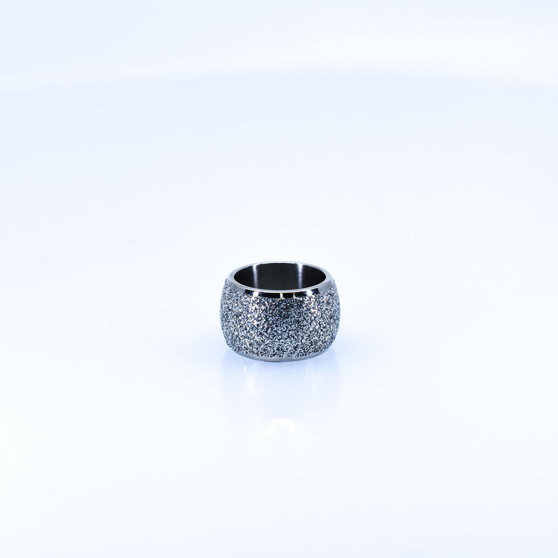 Women's Round Silver Ring