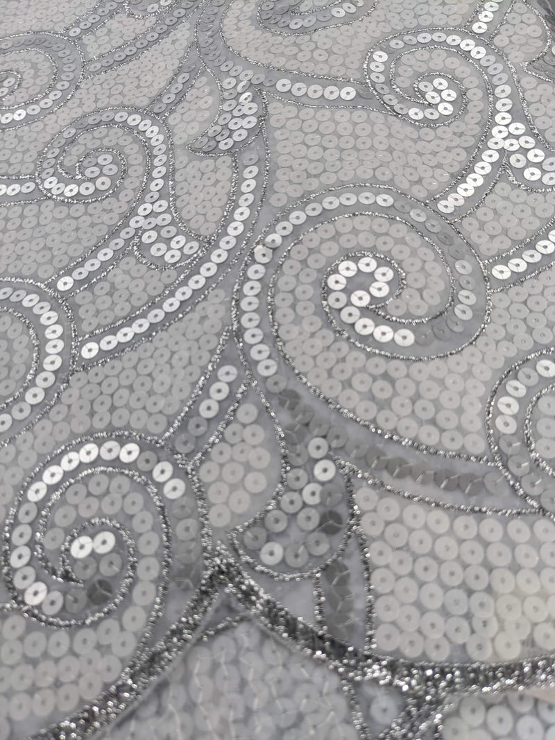 White Guipure Lace