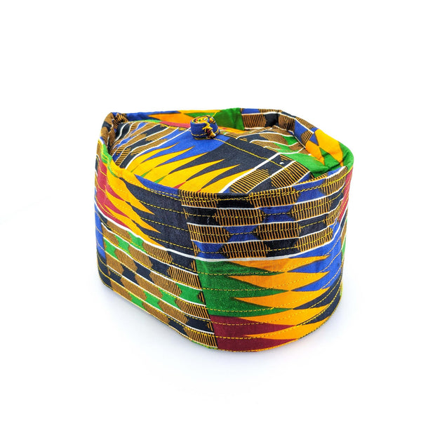 Kente Multi Kufi Cap