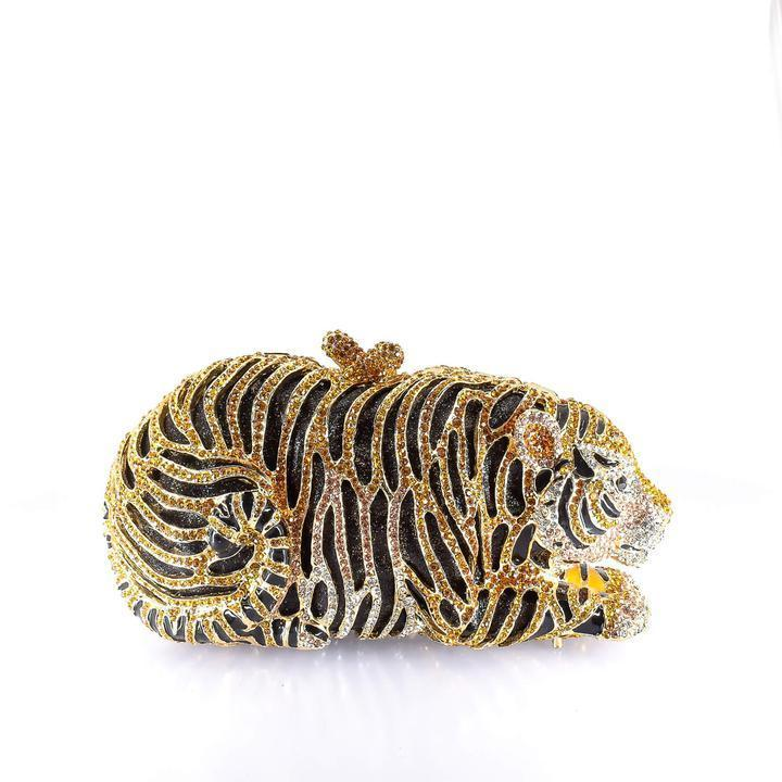 Crouching Tiger Clutch Purse