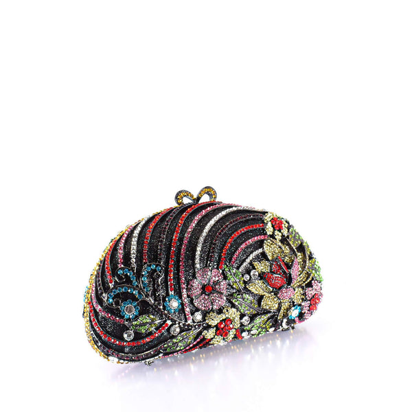Colorful Bouquet Clutch Purse - AFRIKAN ATTIRE - #african_clothing -