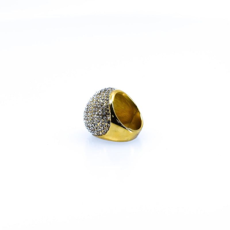 Contemporary Style Wide Concave Women's Ring - AFRIKAN ATTIRE - african_clothing - - african_attireAFRIKAN ATTIRE - african_fashion