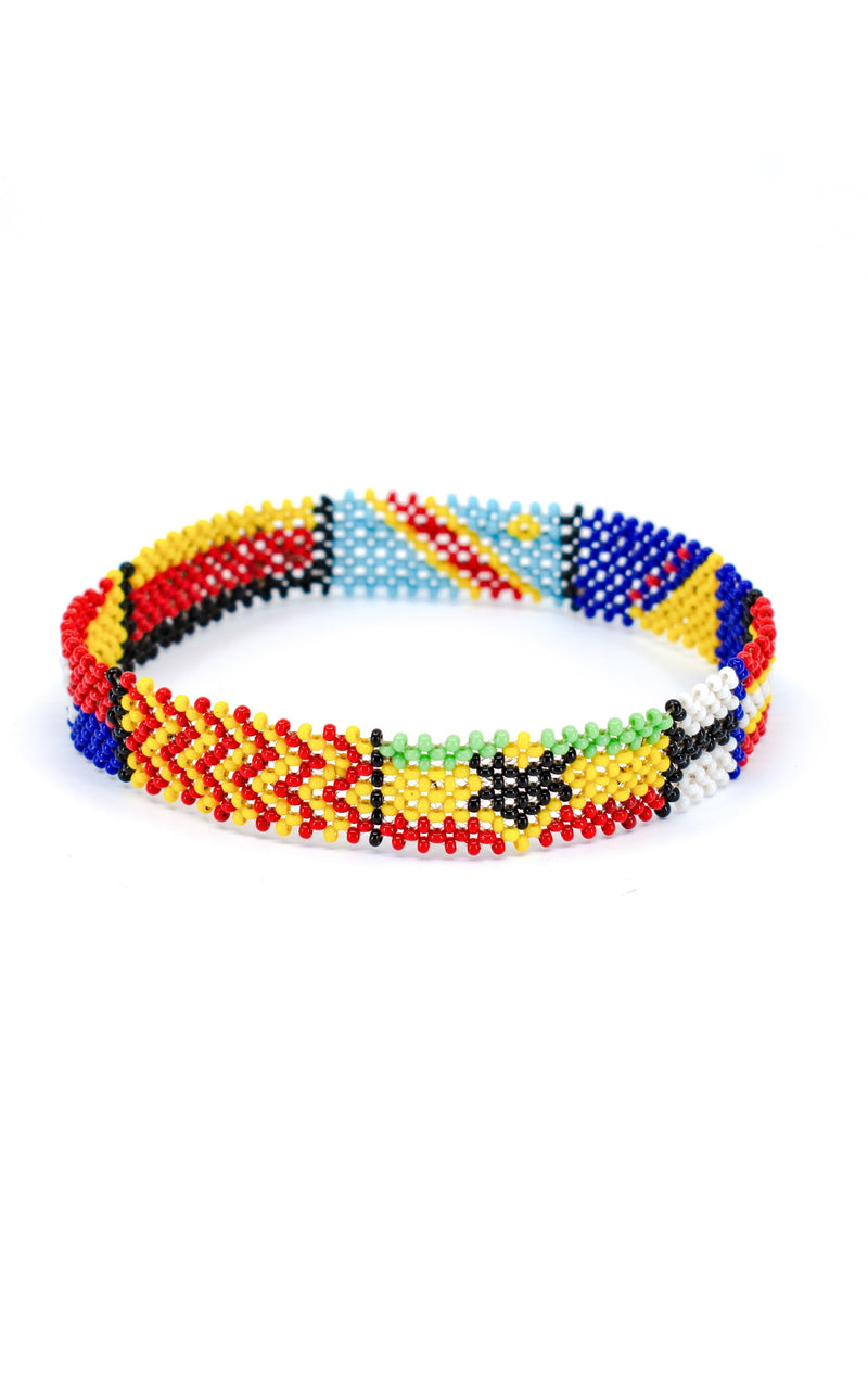 Countries of Africa Bracelet - AFRIKAN ATTIRE -