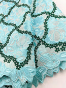 Shades Of Green Cotton Lace