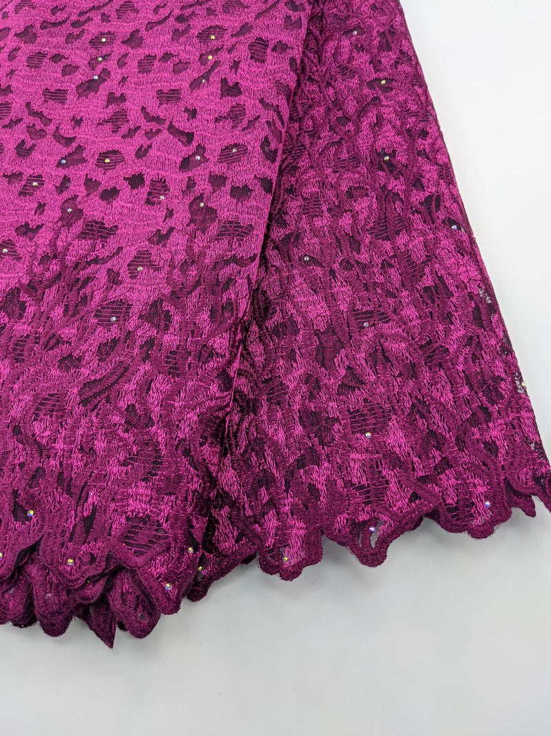 Pink Tulle Lace