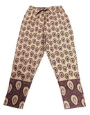 Shades Of Brown Ankara Pants