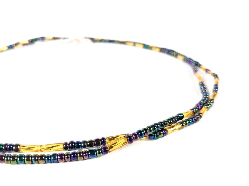 Chrome Clasp Waist Beads