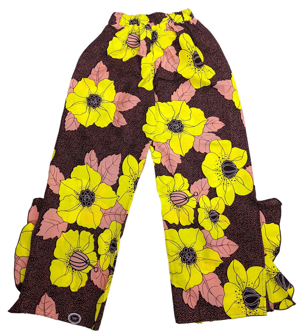 Pink, Black & Yellow Pant