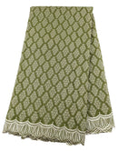 Baby Green Cotton Lace