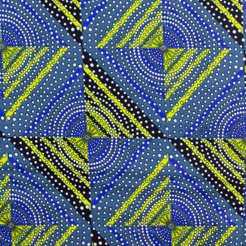 African Wax Fabric - 6 Yards