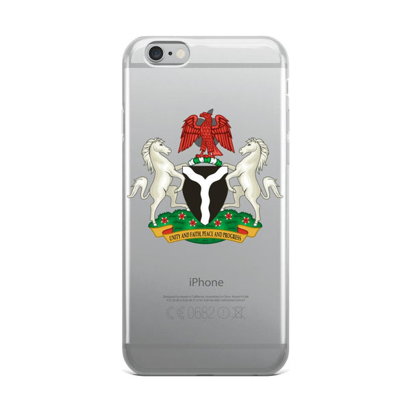 Federal Republic of Nigeria Coat of Arms iPhone Case - AFRIKAN ATTIRE - #african_clothing - PHONE CASE