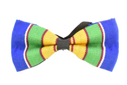 Handwoven Kente Cloth Bowtie - AFRIKAN ATTIRE - #african_clothing - ACCESSORIES