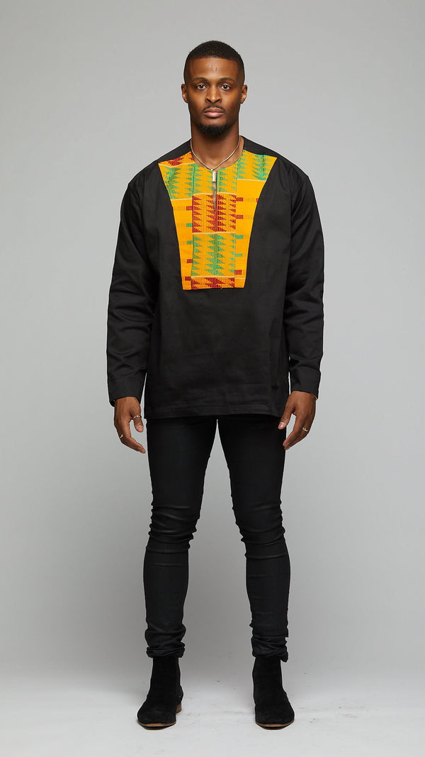 Handwoven Kente Top - AFRIKAN ATTIRE - #african_clothing -