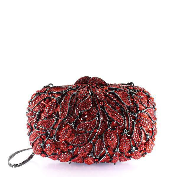 Le Rouge Clutch Purse - AFRIKAN ATTIRE - #african_clothing -