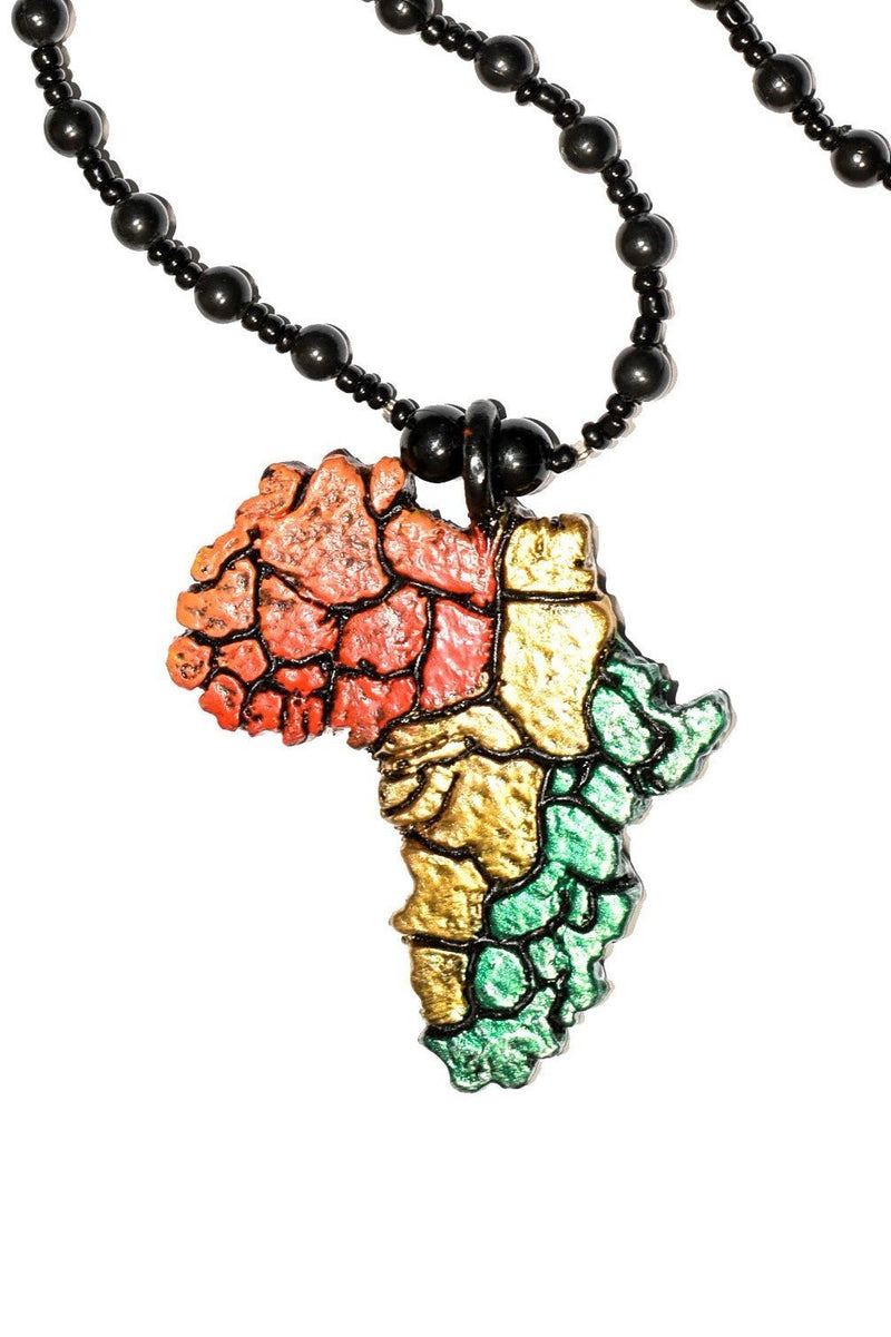Map of Africa Chain - AFRIKAN ATTIRE -