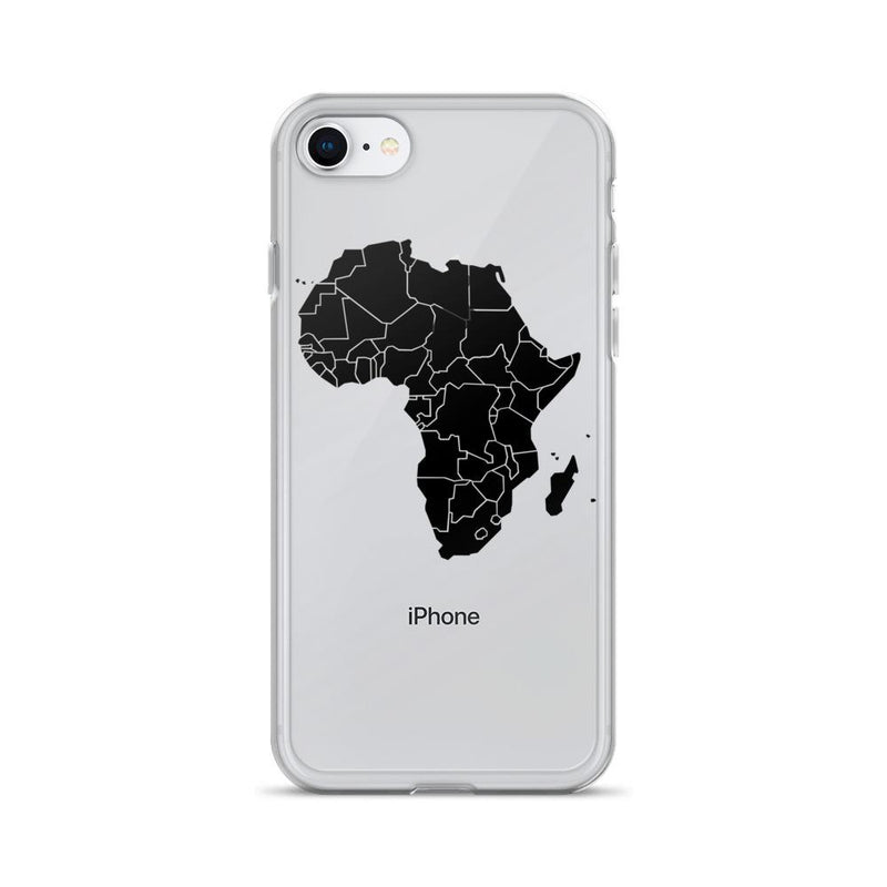 Map of Africa iPhone Case - AFRIKAN ATTIRE - #african_clothing - PHONE CASE