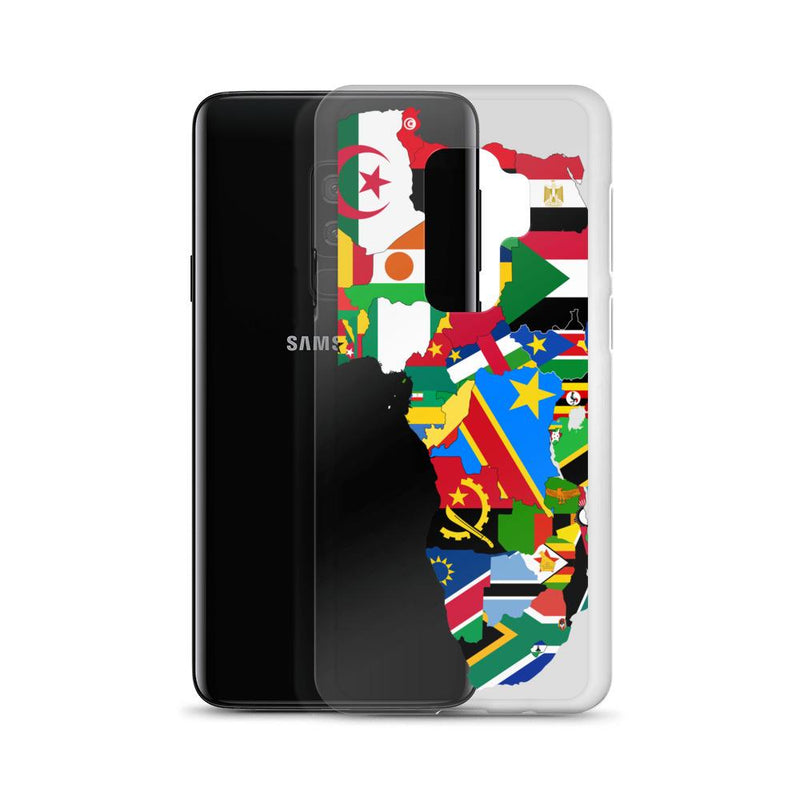 Map of Africa Samsung Case - AFRIKAN ATTIRE -
