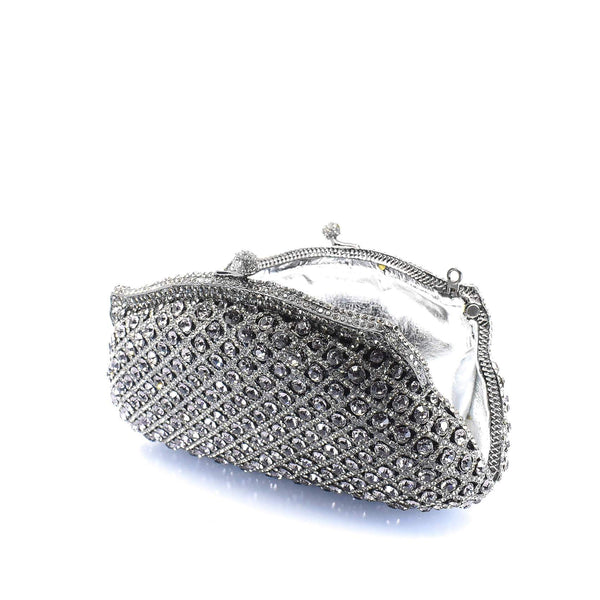 Metallic Detailed Clutch Purse - AFRIKAN ATTIRE - #african_clothing -
