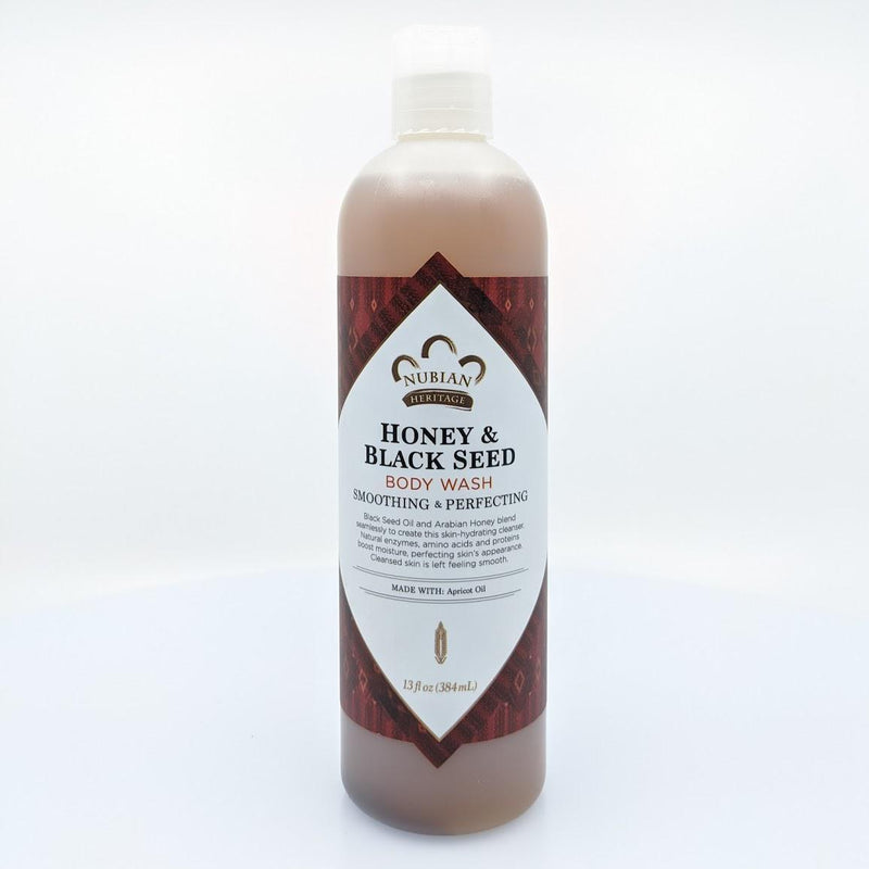 Nubian Honey & Black Seed Body Wash - AFRIKAN ATTIRE - african_clothing - - african_attireAFRIKAN ATTIRE - african_fashion