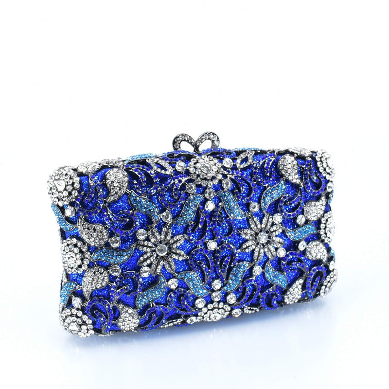 Radiant Floral Clutch Purse - AFRIKAN ATTIRE -