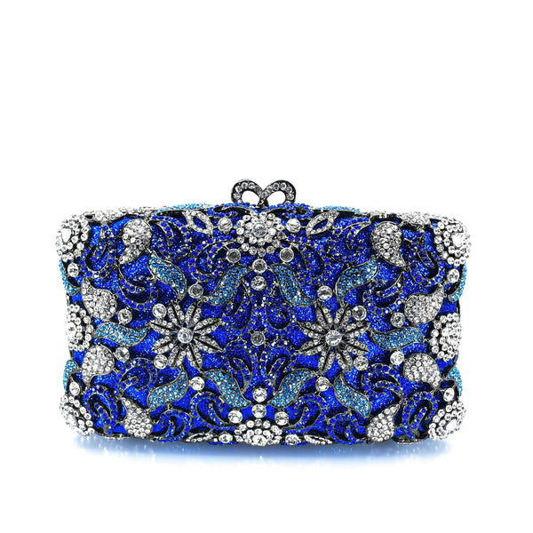 Radiant Floral Clutch Purse - AFRIKAN ATTIRE - #african_clothing -