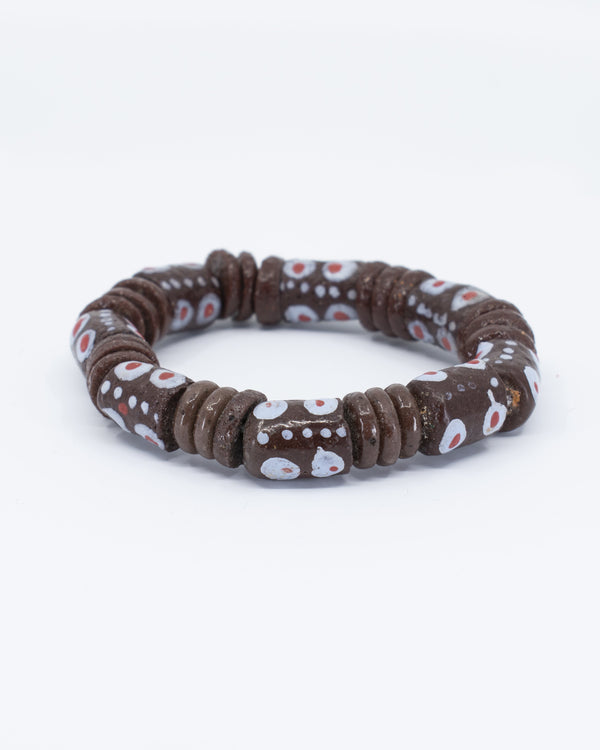 Recycled Glass Beads Bracelet - AFRIKAN ATTIRE - #african_clothing - ACCESSORIES