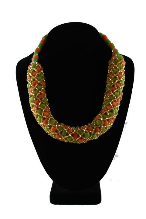 Recycled Glass Beads Ghana Krobo Bead Set Copy - AFRIKAN ATTIRE - #african_clothing -