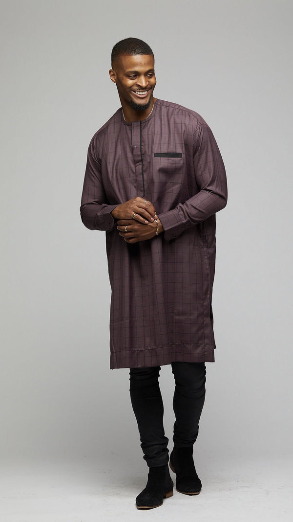 Senator Long Sleeves Shirt - AFRIKAN ATTIRE - #african_clothing -