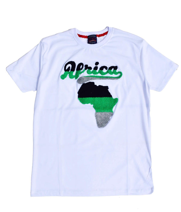 Short Sleeve Africa T-shirt - AFRIKAN ATTIRE - #african_clothing - T-SHIRT
