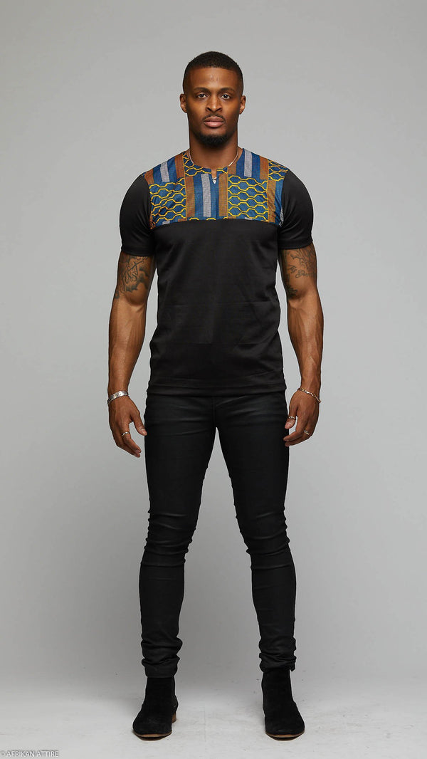 Short Sleeve Top - AFRIKAN ATTIRE - #african_clothing -