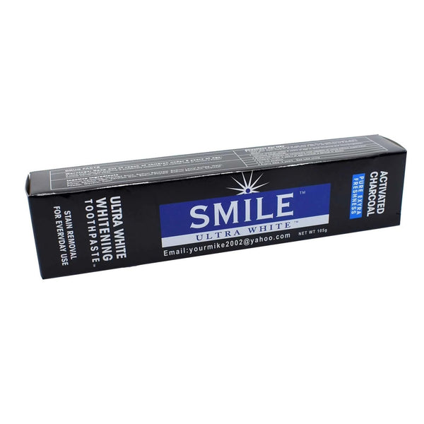 Smile™ Activated Charcoal Toothpaste/brush - AFRIKAN ATTIRE - #african_clothing - HEALTH