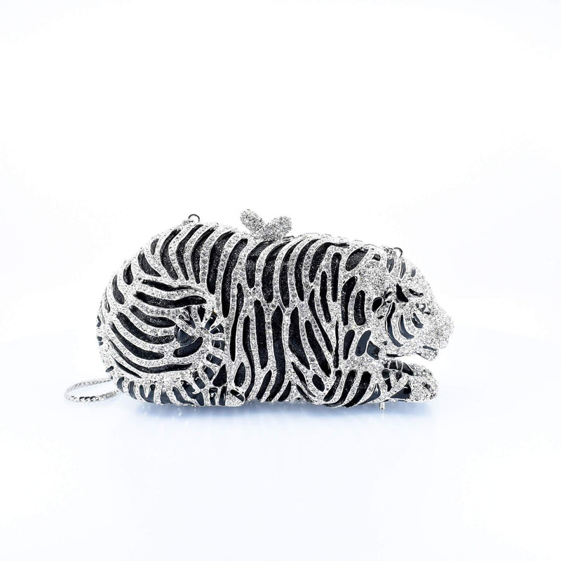 Tiger Clutch Purse - AFRIKAN ATTIRE -