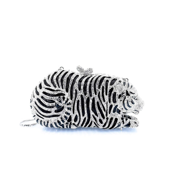 Tiger Clutch Purse - AFRIKAN ATTIRE - #african_clothing -
