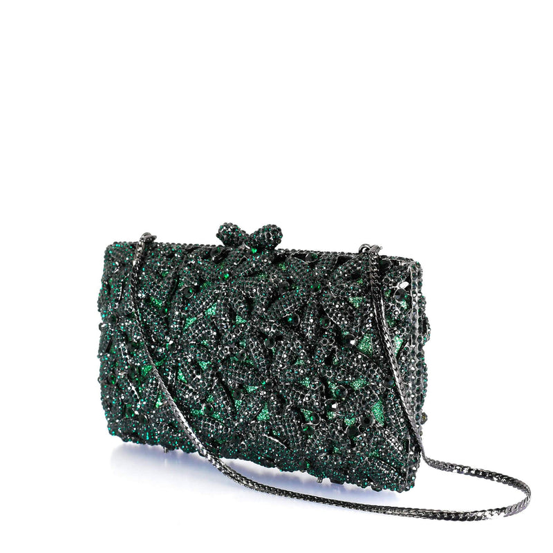 Timeless Emerald Clutch Purse - AFRIKAN ATTIRE -