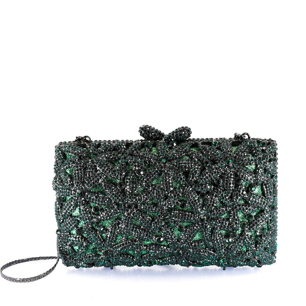 Timeless Emerald Clutch Purse - AFRIKAN ATTIRE - #african_clothing -