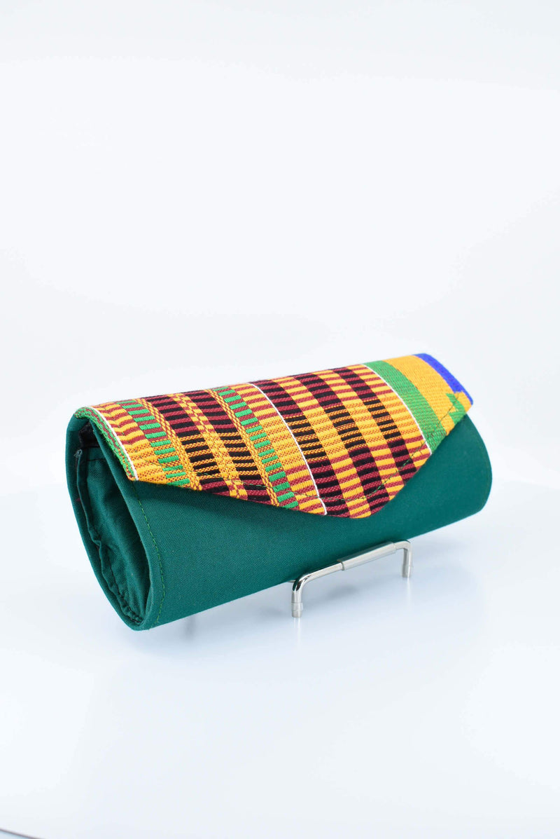 Unique Kente Cloth Clutch Purse - AFRIKAN ATTIRE - #african_clothing - ACCESSORIES