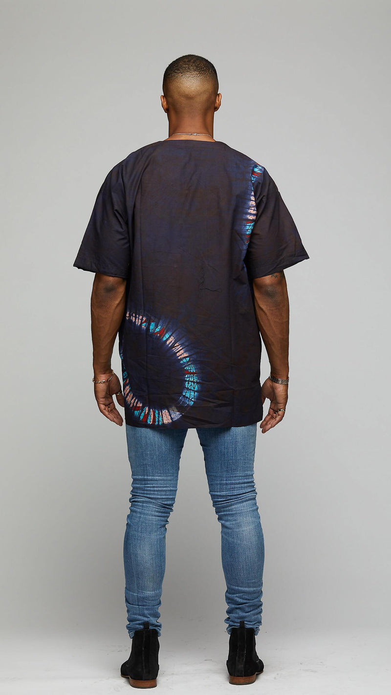 "$$""wayward ski lines"" Tie & Dye T-Shirt - AFRIKAN ATTIRE - african_clothing - Apparel - african_attireAFRIKAN ATTIRE - african_fashion"